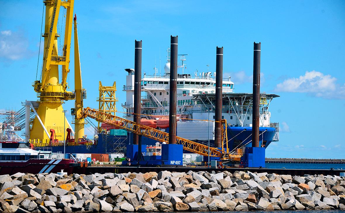 Способное завершить Nord Stream 2 судно отправили готовиться к достройке