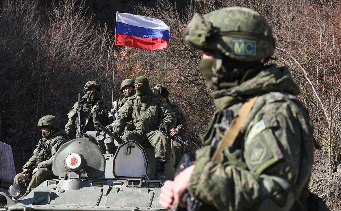 Минобороны опровергло данные об окружении российских военных в Карабахе