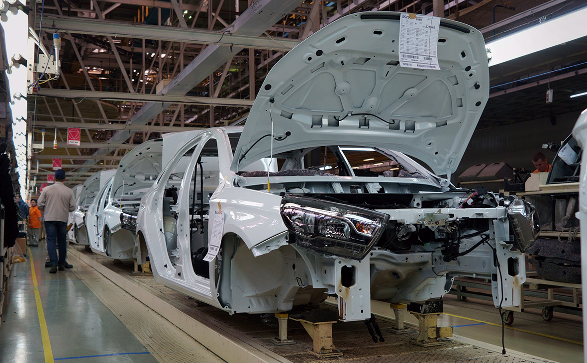 Российский автопром вслед за мировым столкнулся с нехваткой микросхем