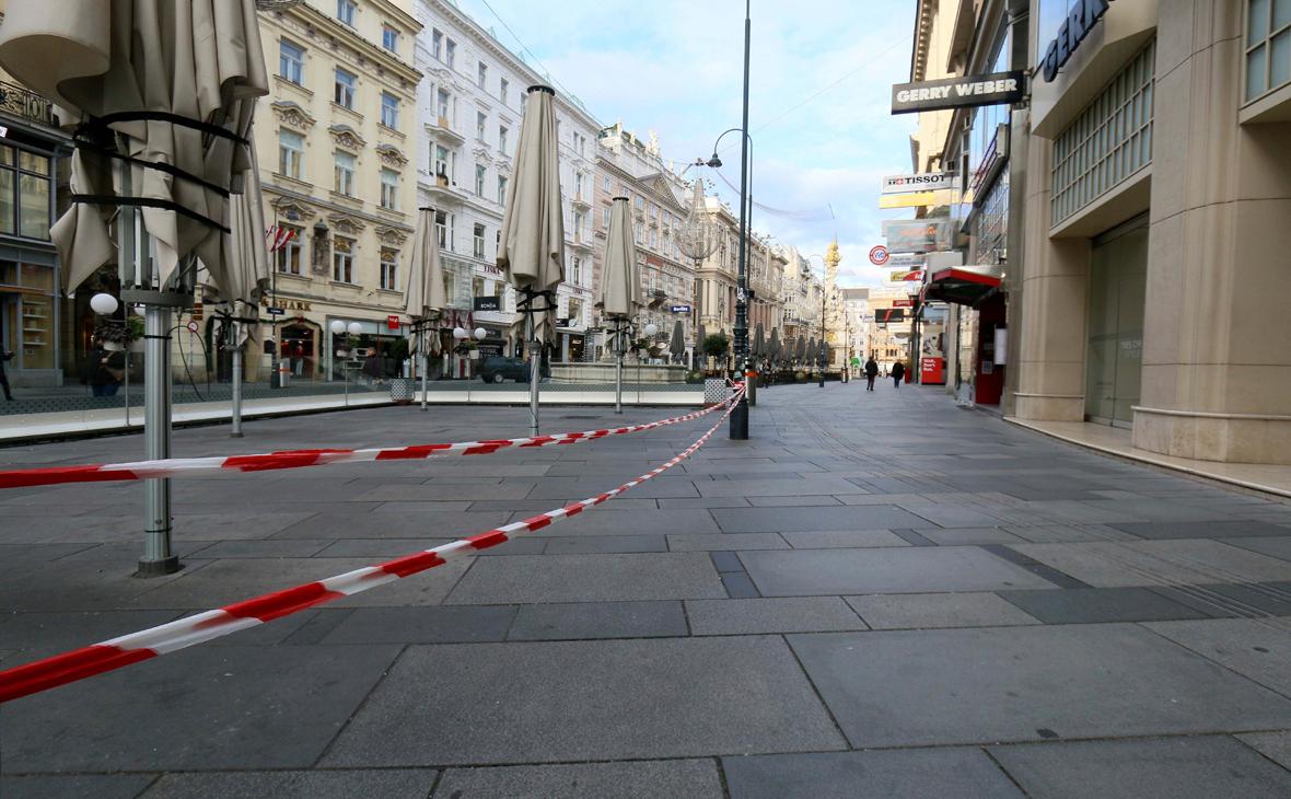 В Австрии начался третий локдаун из-за коронавируса