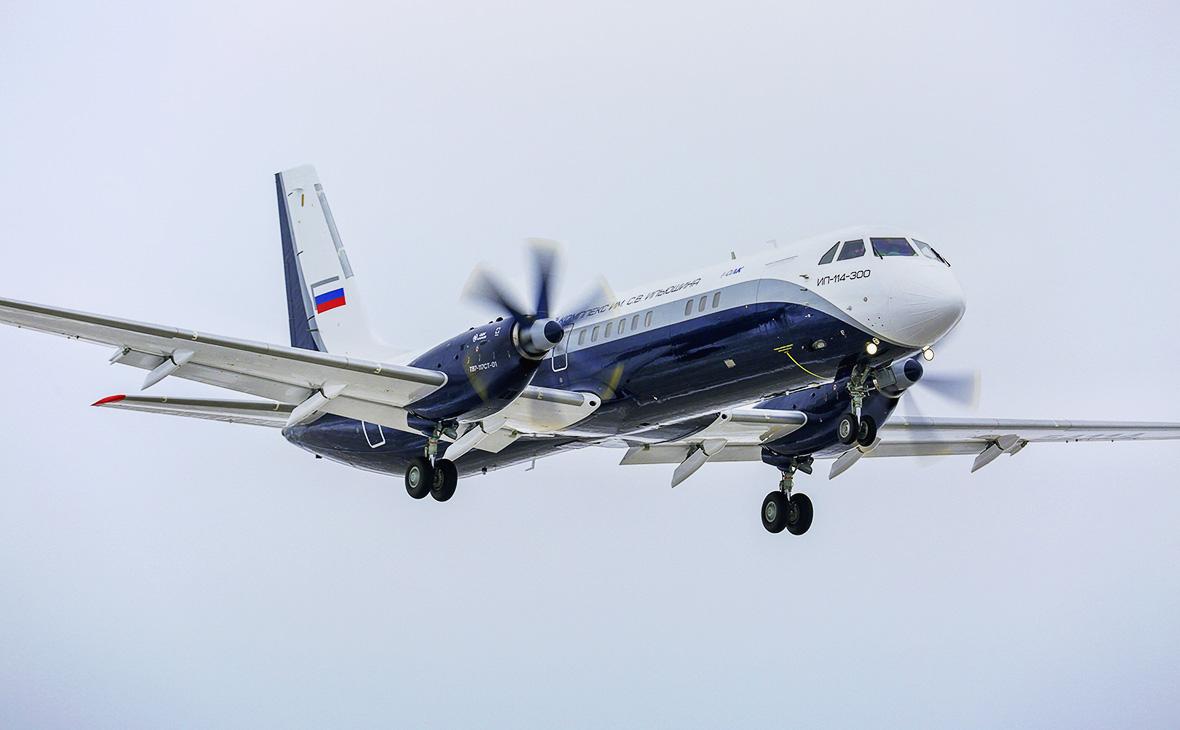 «Ростех» назвал сроки первого полета Ил-114-300 с обновленным фюзеляжем