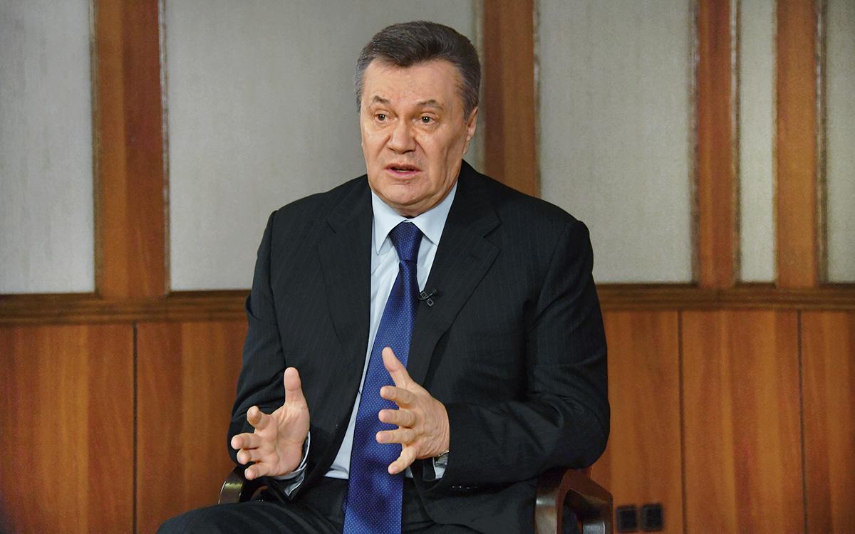 ЕС продлил на год санкции против Януковича и его окружения
