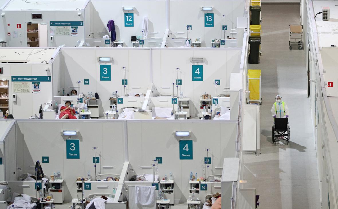 Число случаев заражения коронавирусом в Москве превысило 1 млн