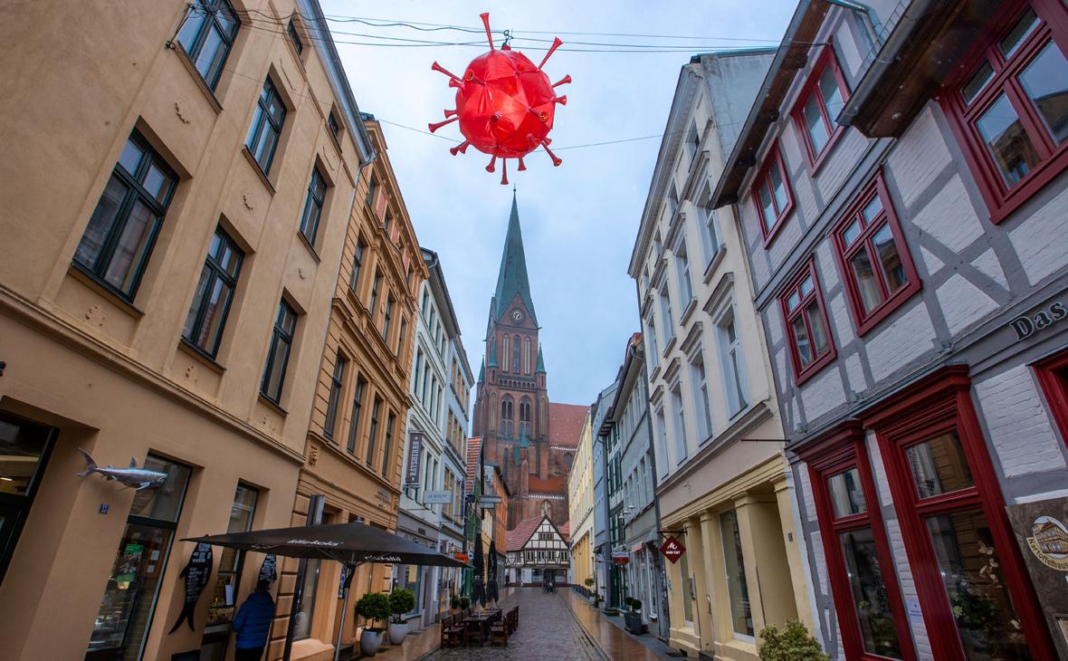 В Германии ужесточили ограничения из-за коронавируса