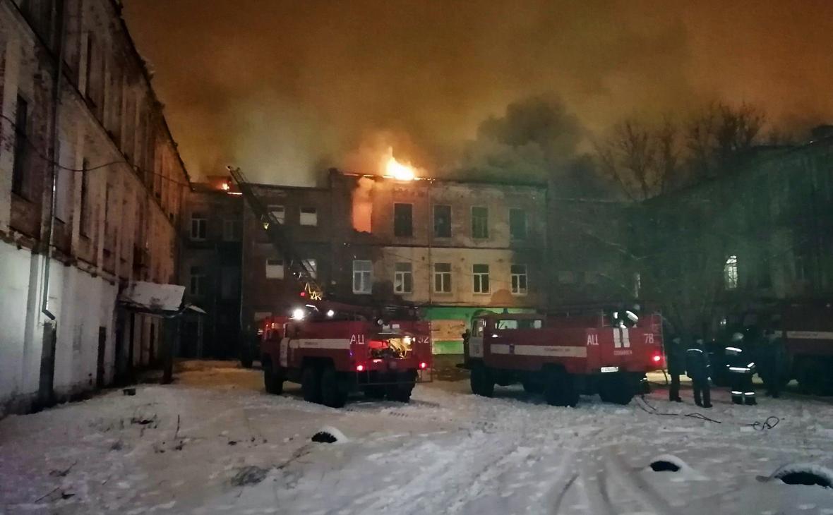 В многоквартирном доме во Владимирской области произошел пожар