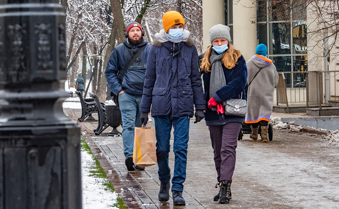 Ночь на 25 января стала самой теплой для Москвы за историю наблюдений