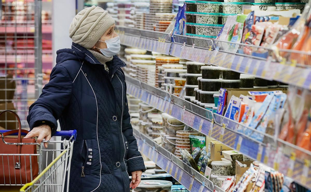 Покупатели в конце года реже ходили в продуктовые магазины