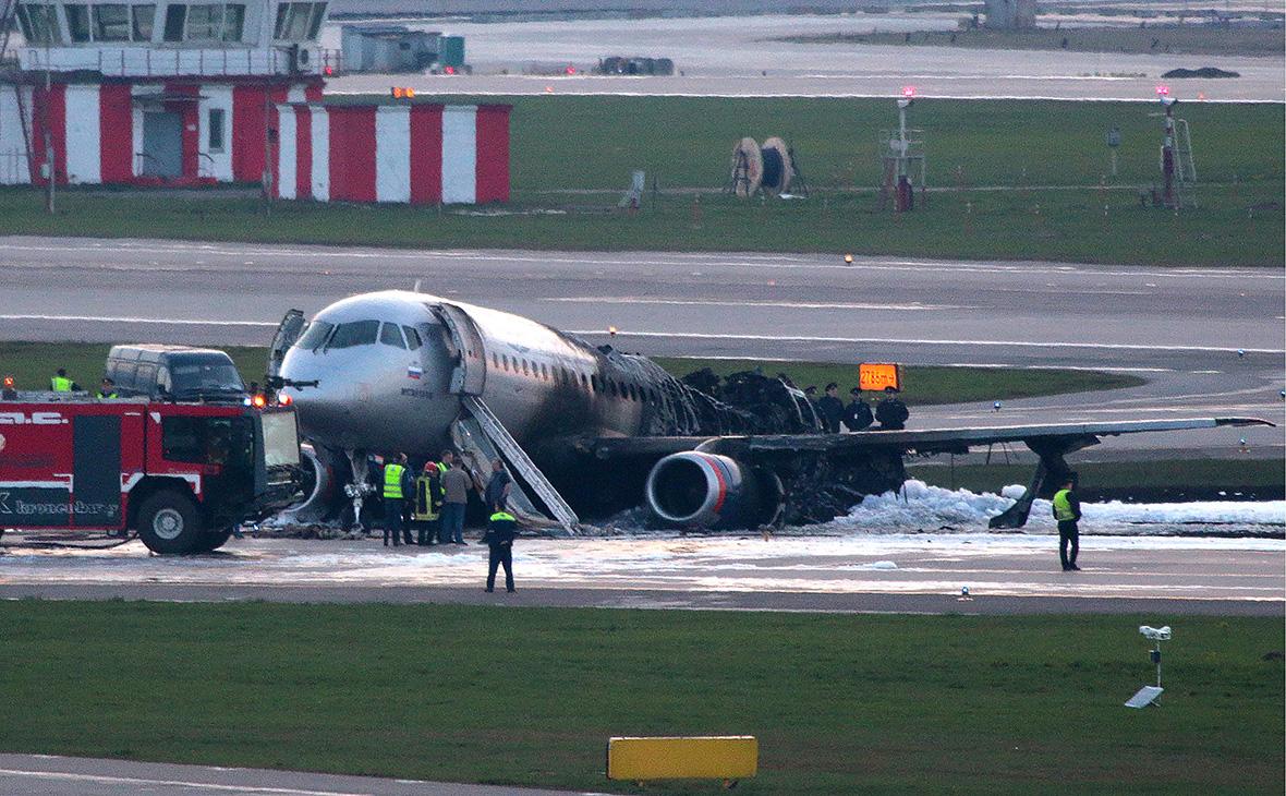 «Ростех» назвал ошибку пилотирования причиной крушения SSJ в Шереметьево