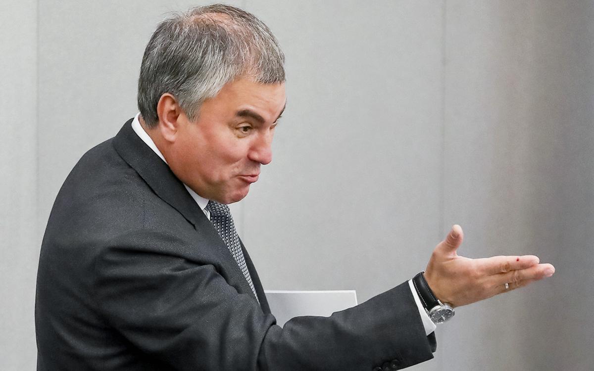 Володин назвал победы России причиной санкций