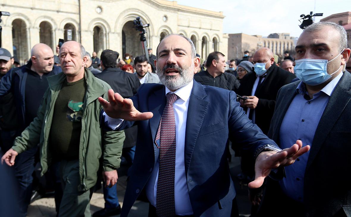 Пашинян назвал управляемой ситуацию в Армении