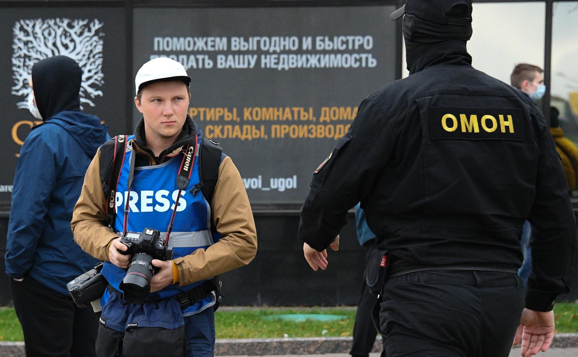 Минск предложил дать госзащиту представляющим интересы страны журналистам