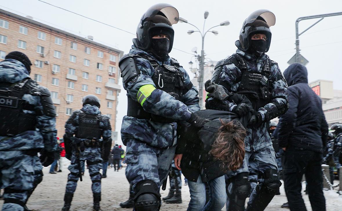 МВД заявило об осознанном участии несовершеннолетних в акциях протеста
