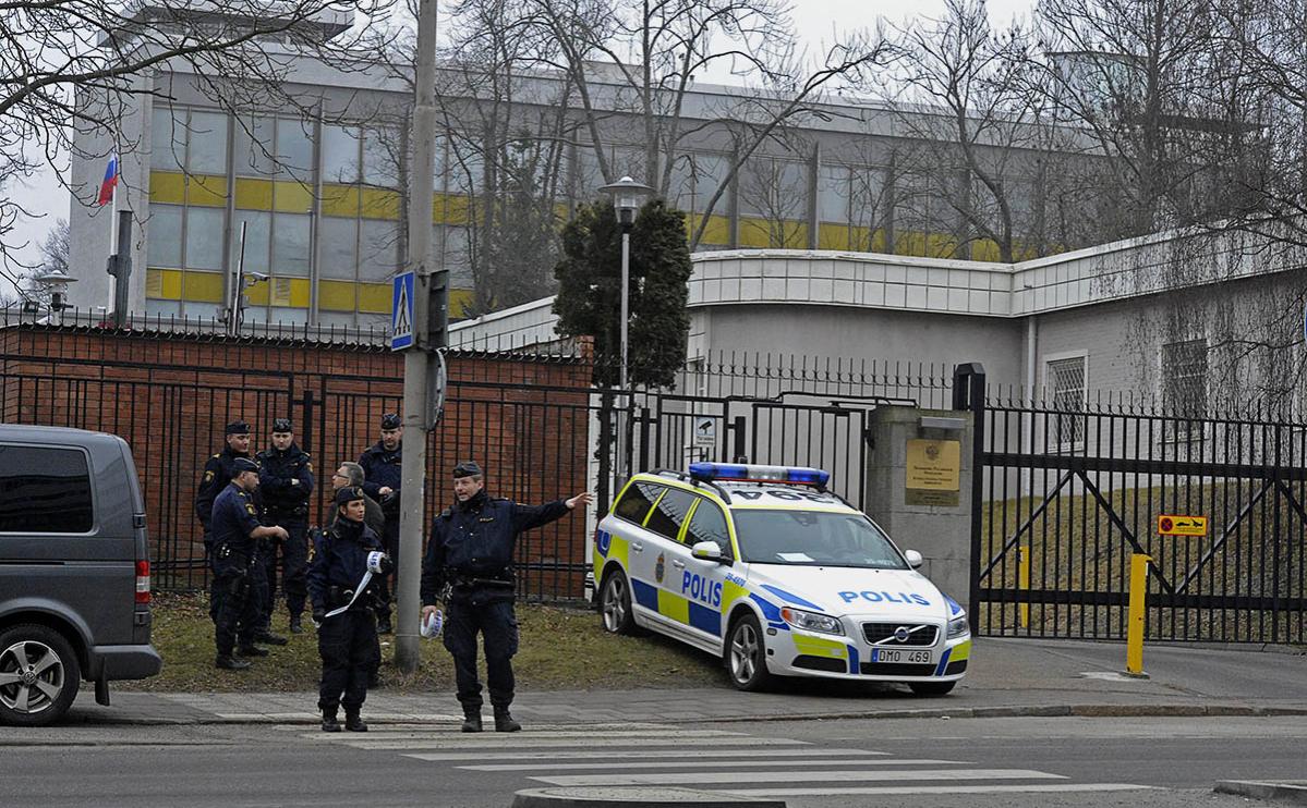 Швеция, Польша и ФРГ объявили о высылке российских дипломатов
