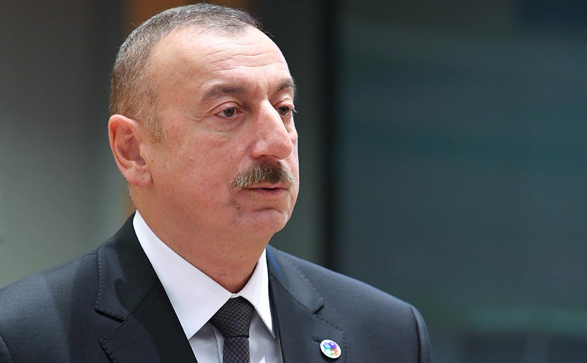 Алиев предостерег «реваншистские силы» Армении от пересмотра перемирия