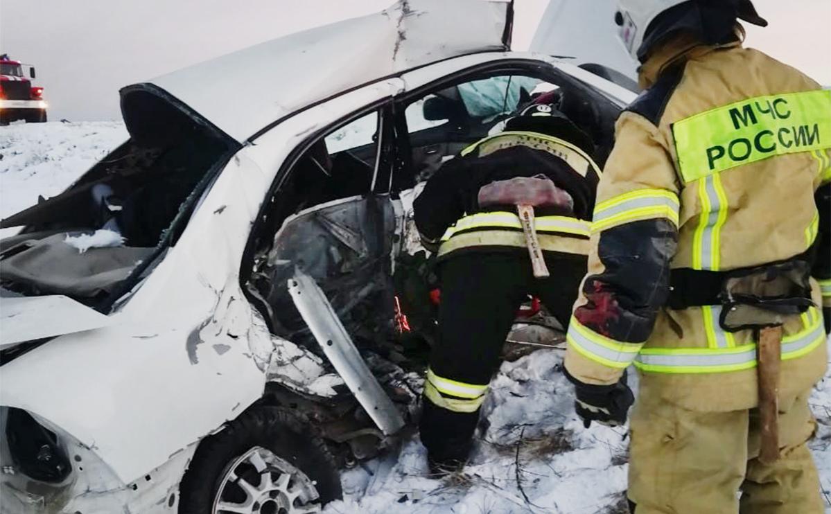 В ДТП в Туве погибли восемь человек