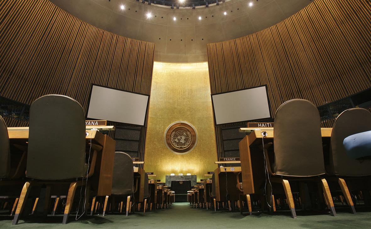 Почти 60% россиян выступили за более активную позицию ООН в мире