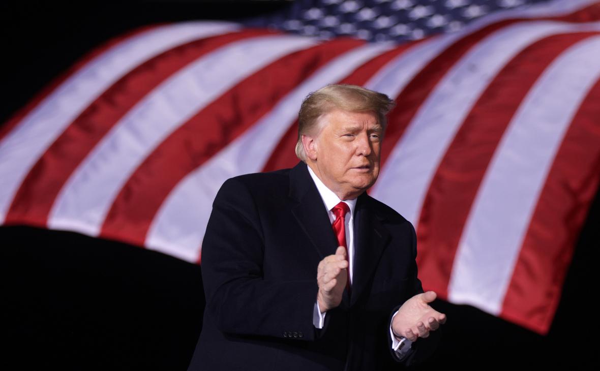 Трамп сообщил о планах одержать победу в восьми штатах страны