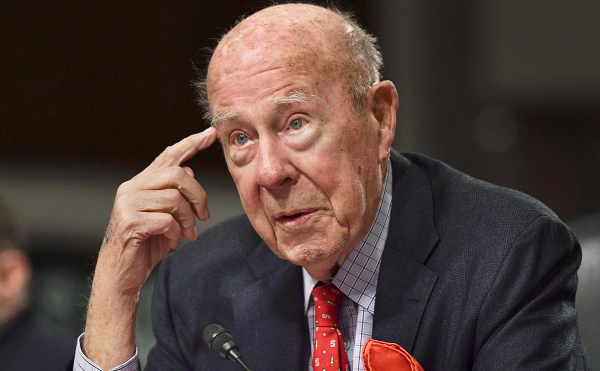 Умер причастный к концу холодной войны госсекретарь США Джордж Шульц