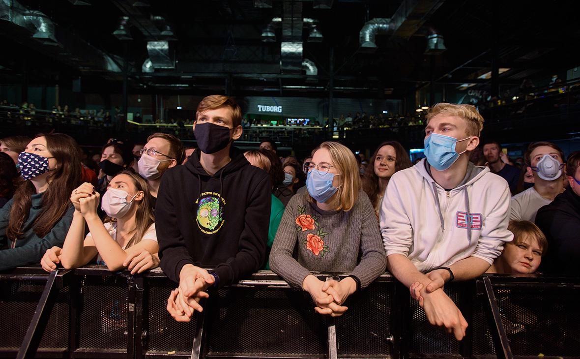 Власти Петербурга обязали сообщать число и возраст зрителей на концертах
