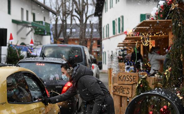 ВОЗ посоветовала отмечать Новый год на улице