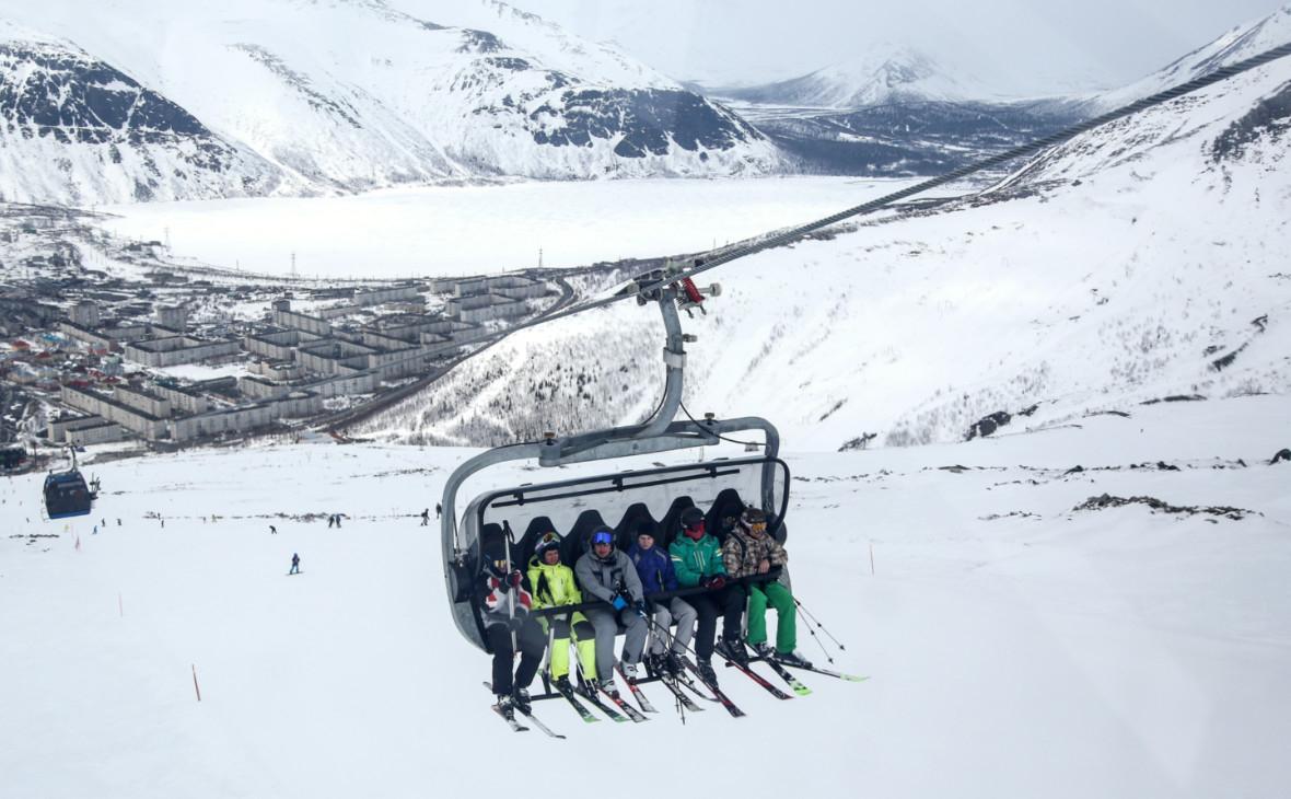 Мурманские горнолыжные курорты закрыли для туристов из других регионов