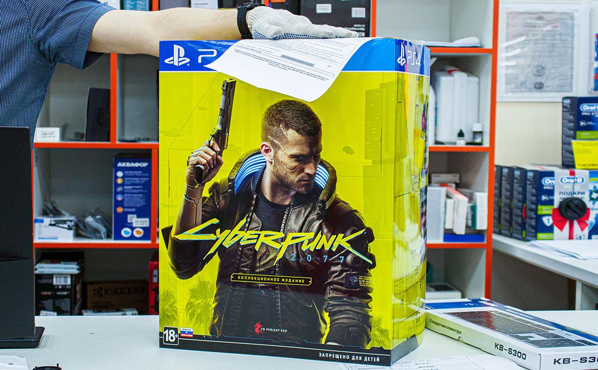 Sony отозвала из магазинов PlayStation игру Cyberpunk 2077