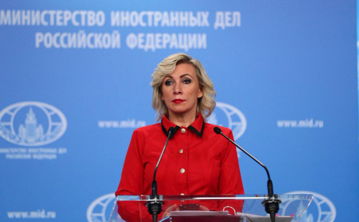 Захарова ответила Киеву на заявление об «адской» для России теме Крыма