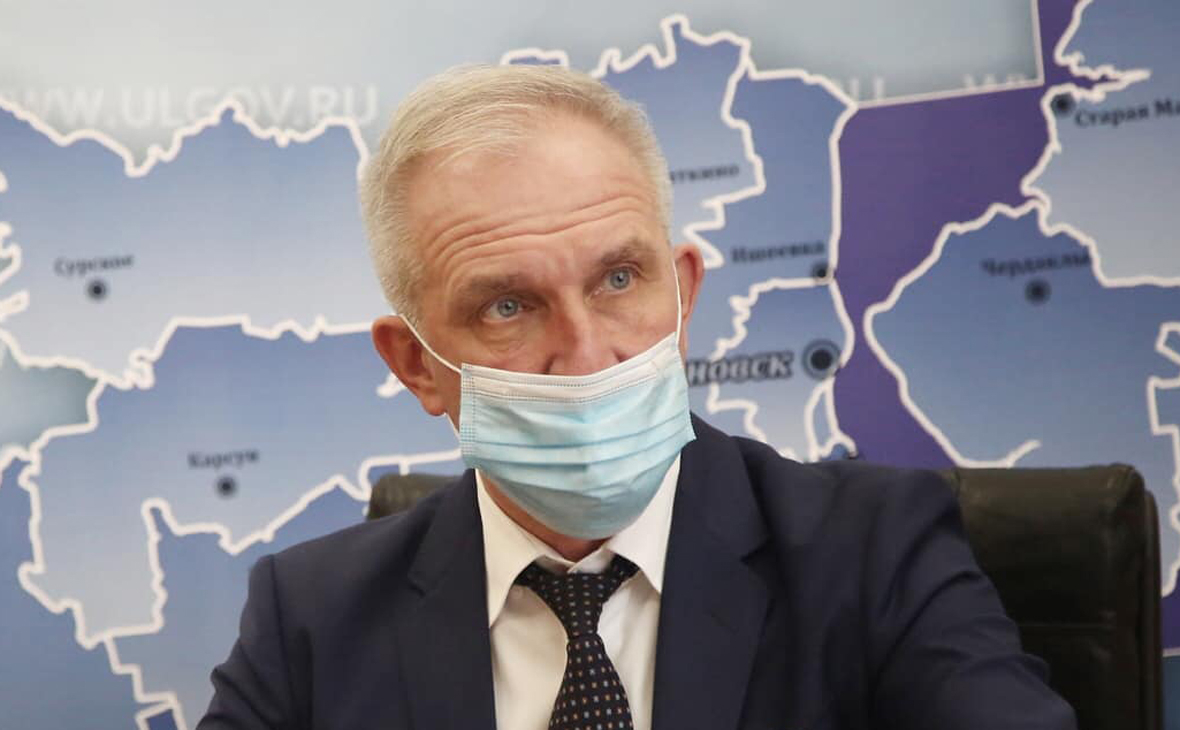 Губернатора Ульяновской области госпитализировали с COVID-19