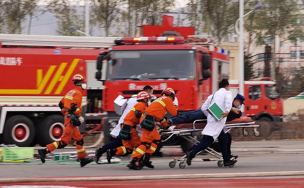 В Китае при взрыве на газопроводе погибли три человека
