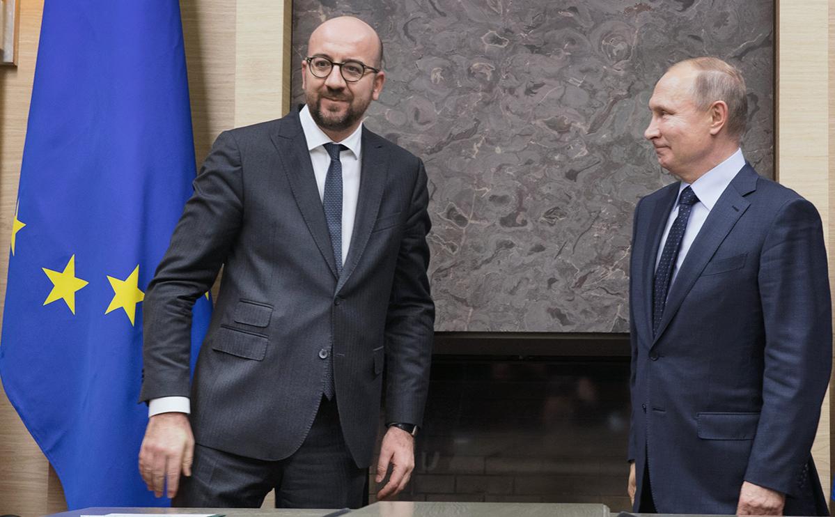 Путин и глава Евросовета обсудили ситуацию вокруг Навального
