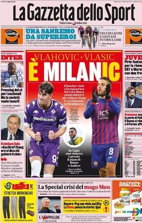 «Милан» интересуется Влашичем. Хавбек ЦСКА оценивается в 30 млн евро