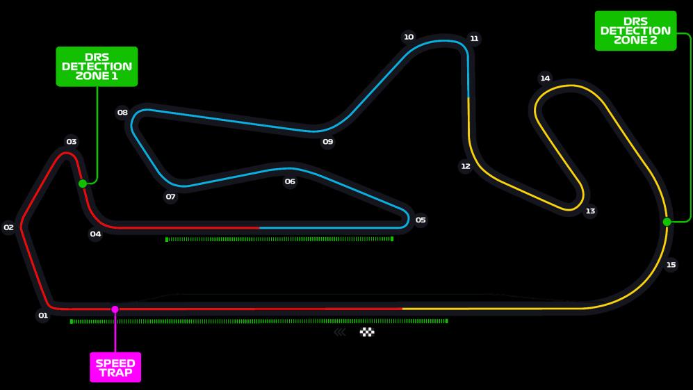 На Гран-при Португалии появится вторая зона DRS