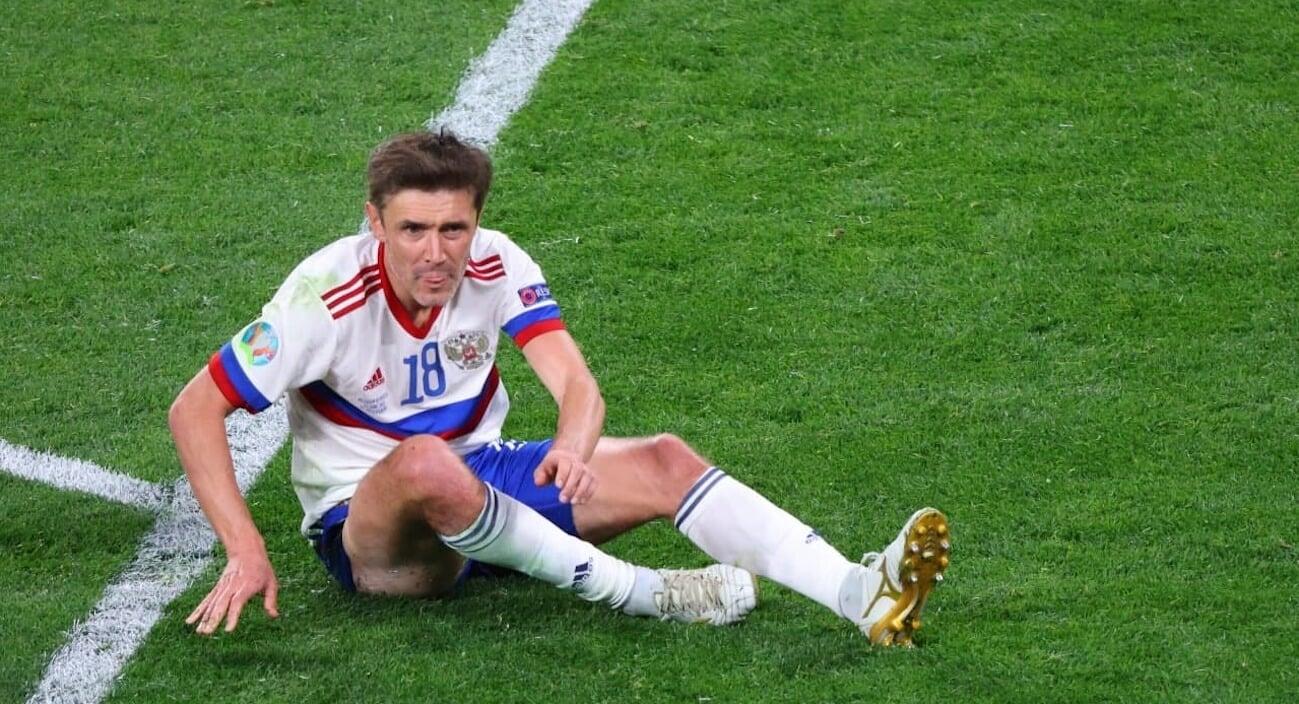 Жирков отсутствует на тренировке сборной России