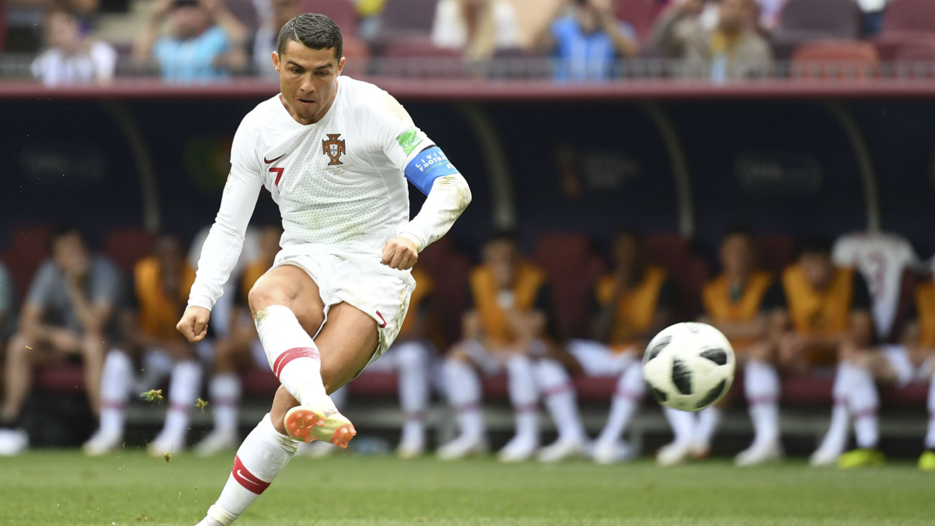Роналду пробил 50 штрафных за Португалию на Евро и ЧМ. У него один гол