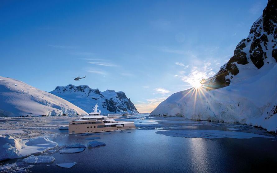 Олег Тиньков начал сдавать свою яхту-ледокол в аренду за €1 млн в неделю