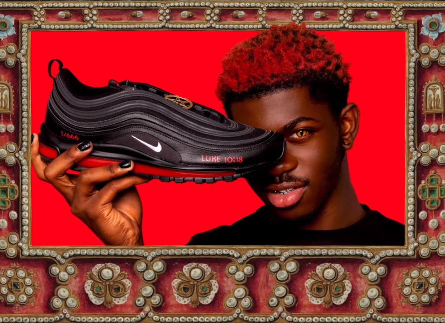 Суд запретил поставлять «сатанинские кроссовки» заказчикам