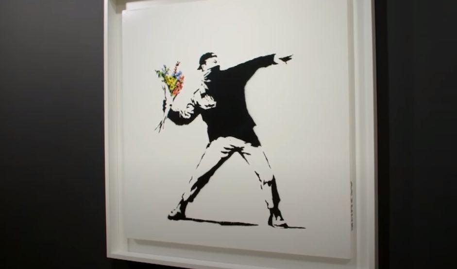 Картину Бэнкси продали за $12,9 млн. Покупатель cможет расплатиться криптовалютой