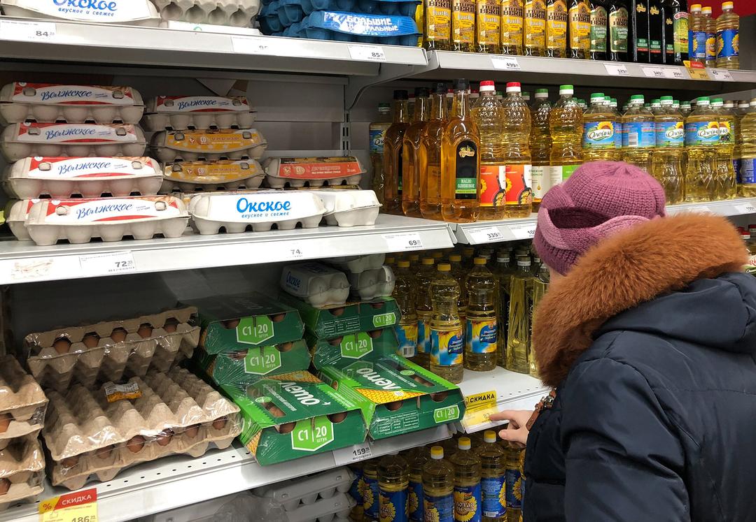 В России цены на яйца взлетели из-за птичьего гриппа