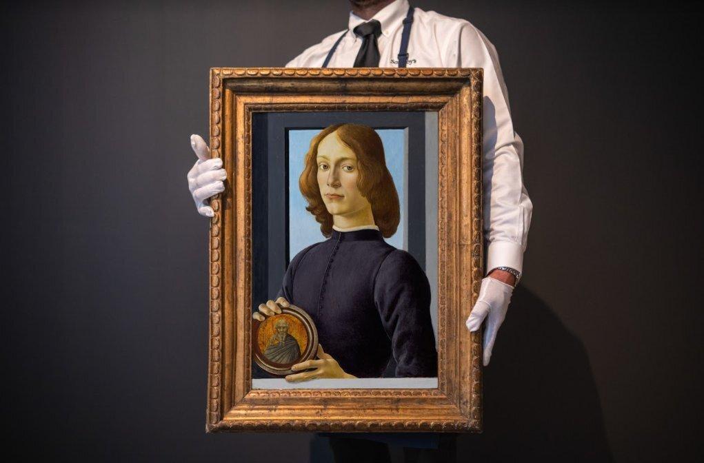 Картину Боттичелли продали за $92,2 млн. Покупатель оказался с русскими корнями