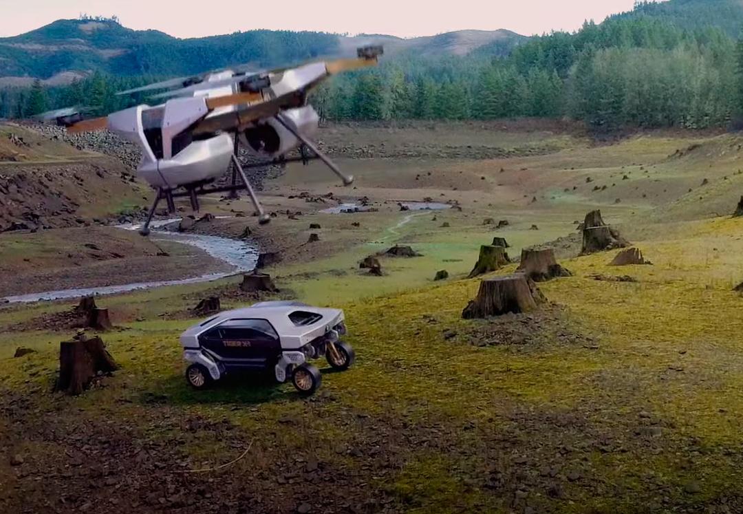 Hyundai создала робота-шагохода для перевозки грузов. Его можно будет использовать на других планетах