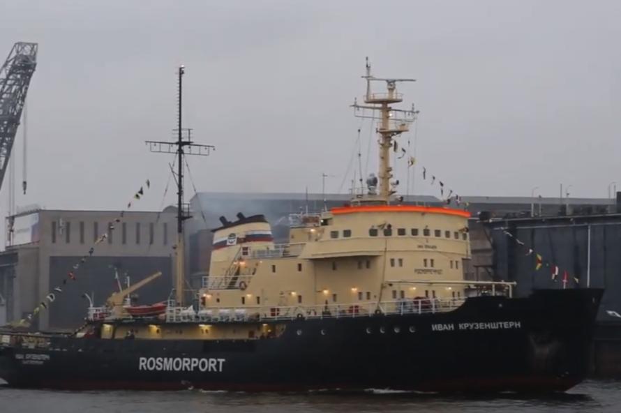Механик украл с российского ледокола тонны топлива на 4,5 млн рублей