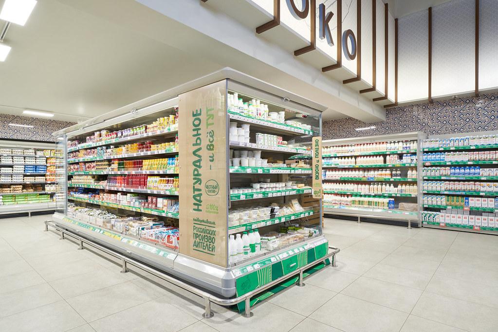 Половина «молочки» в российских магазинах оказалась просроченной