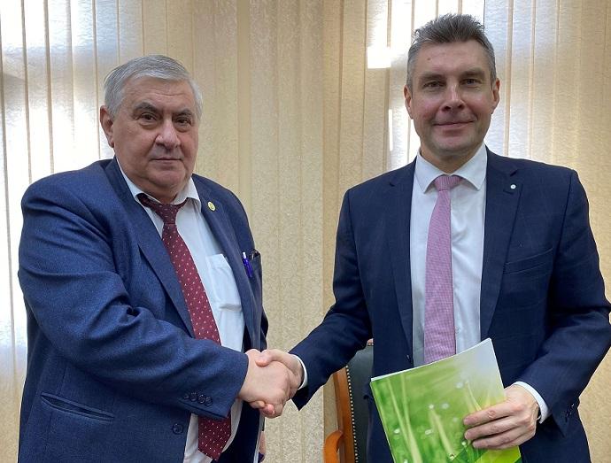 Сбербанк подписал Соглашение о сотрудничестве с Агросоюзом Курской области