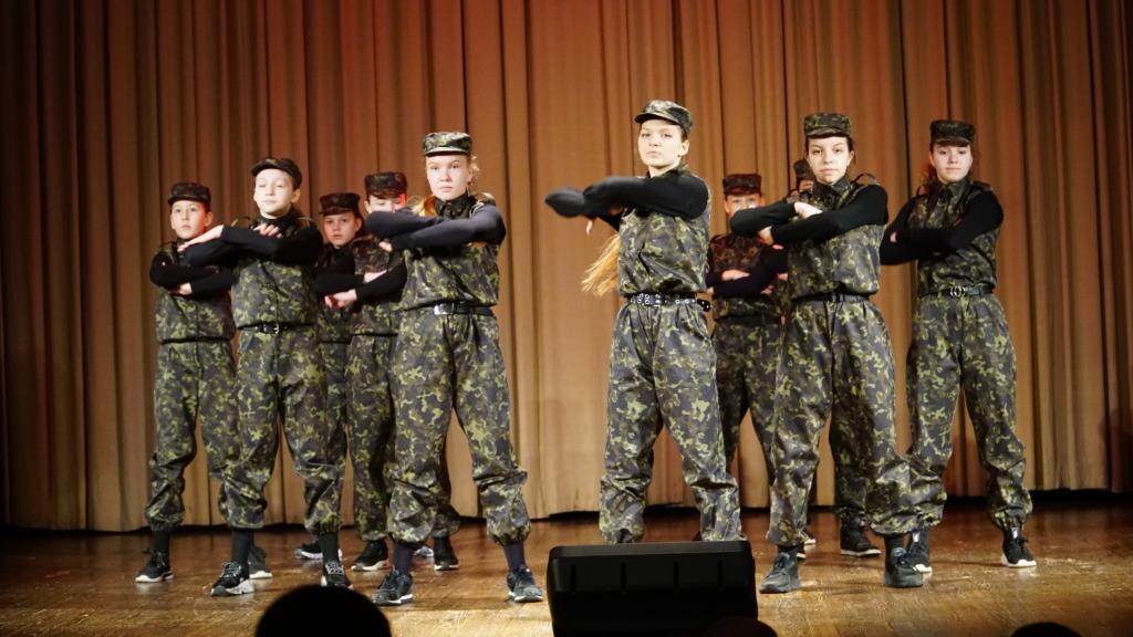 В Смоленске прошёл праздничный концерт, посвящённый Дню Защитника Отечества
