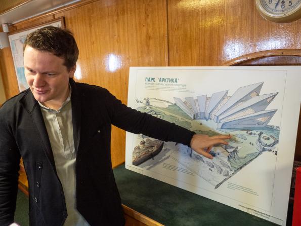Парк 'Арктика' может появиться на намыве Васильевского острова