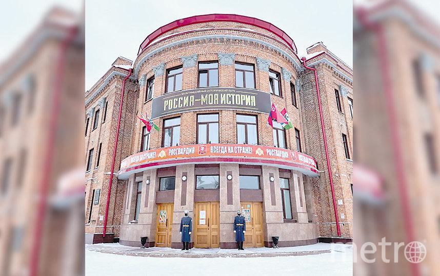 В историческом парке «Россия – моя история» открыли уникальную мультимедийную выставку о Росгвардии – «Всегда на страже»