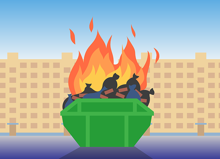 Взыскать ущерб с соседа: ВС решал, кто ответит за пожар