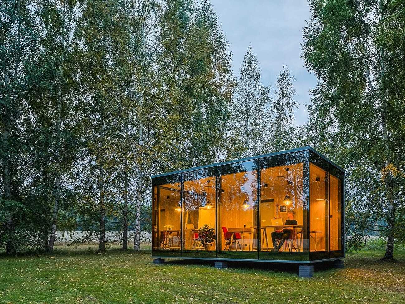 Эстонская компания создала «офис в коробке», который можно разместить где угодно