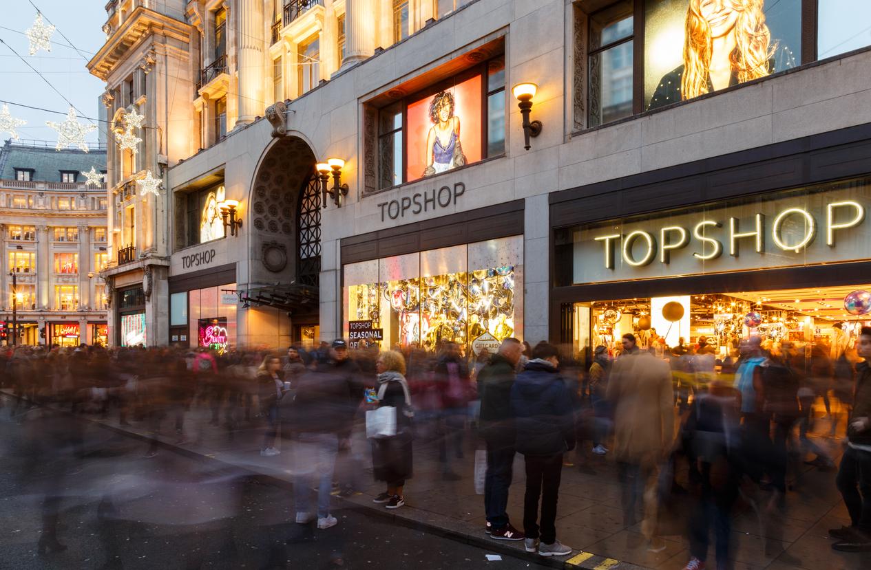 Asos ведёт переговоры о покупке Topshop