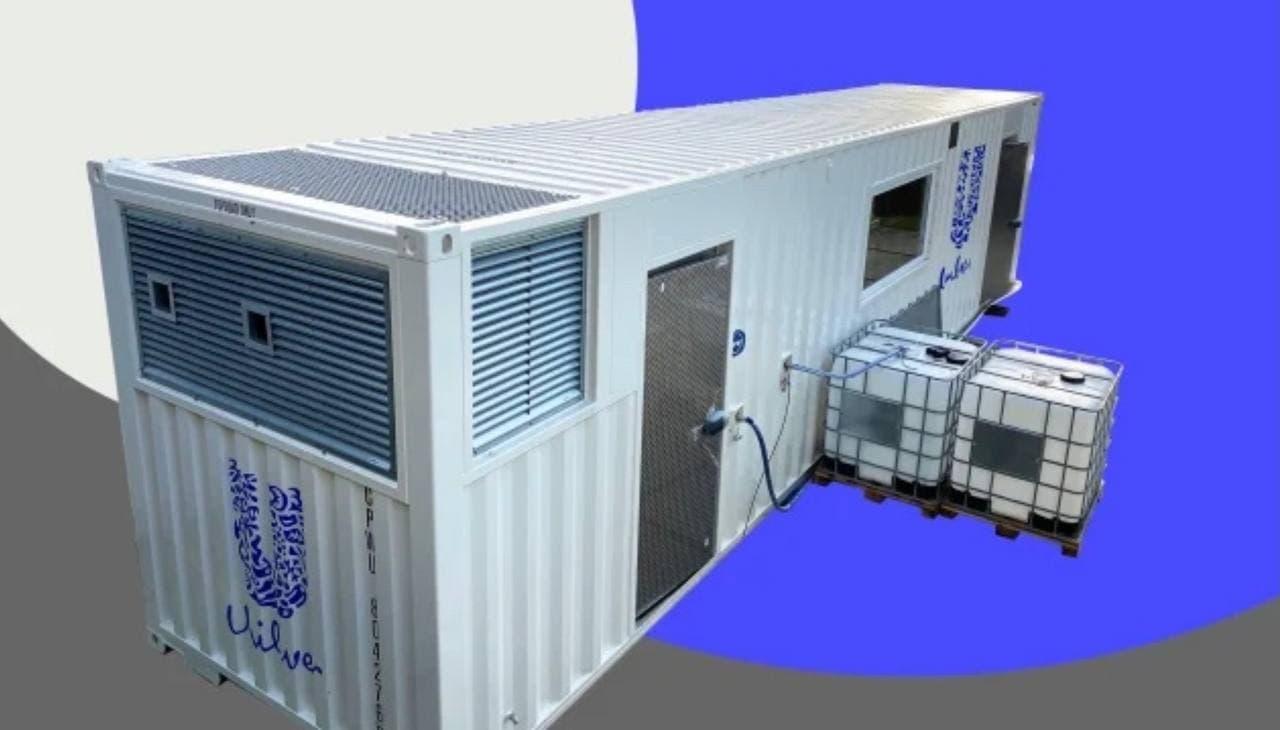 Unilever начала тестировать нанофабрики, которые помещаются в транспортных контейнерах